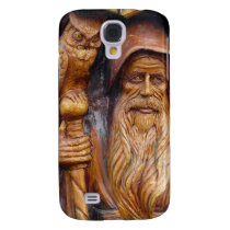 Owl and Wizard Keep Watch Galaxy S4 Case