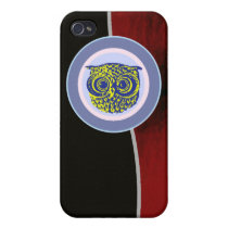 owl animal - cute birds iPhone 4/4S case