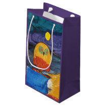Owl Art by Kids Small Gift Bag