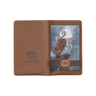Owl Art Custom Notebook - Pocket