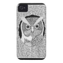 Owl Art iPhone 4 Case