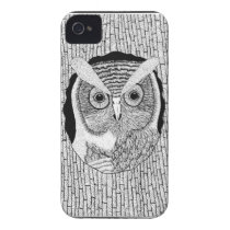 Owl Art iPhone 4 Cover