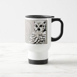 Owl Art Travel Mugs