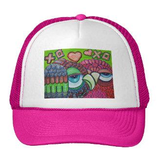 Owl Art Trucker Hat