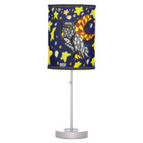 Owl art  two desk lamp
