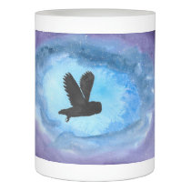 Owl At Night Flameless Candle