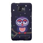 Owl at Night Samsung Galaxy S Case Samsung Galaxy SII Case