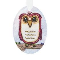 Owl at Rest Ornament