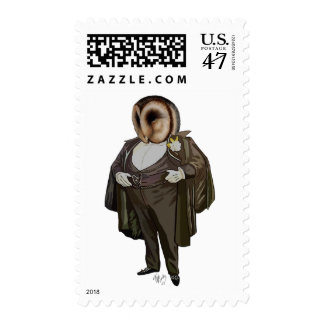 Owl At the Opera Stamp
