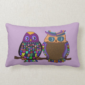Owl Attraction Throw Pillows
