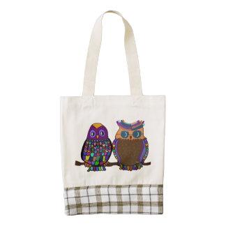 Owl Attraction Zazzle HEART Tote Bag
