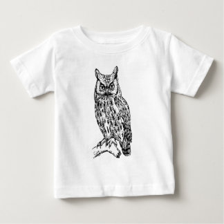 owl b/w collection baby T-Shirt