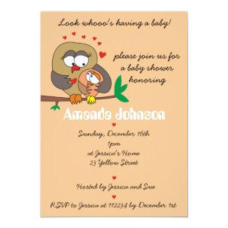Owl Baby Shower Invitations,Baby Shower Invitation