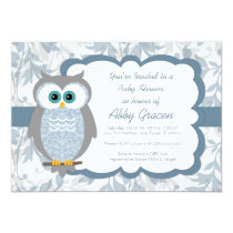 Owl baby shower invitations owl baby shower invitations for boys blue 830 filmwisefo