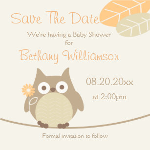 Baby Shower Save The Date Refrigerator Magnets Zazzle