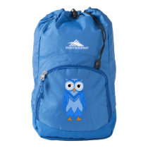 Owl Backpack: Blue Owl High Sierra Backpack