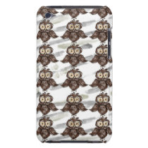 owl barely there iPod case