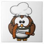 Owl BBQ Tile