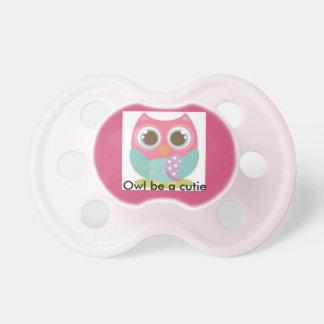 Owl be a cutie. BooginHead pacifier