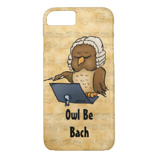 Owl Be Bach Funny iPhone 7 Case