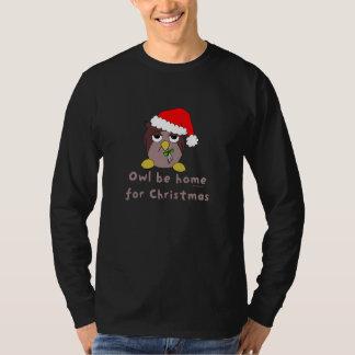 Owl Be Home (Dark) T Shirt