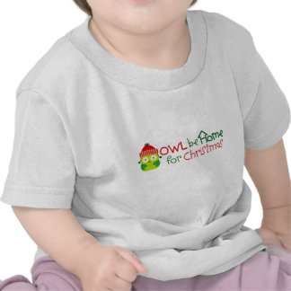 Owl be Home for Christmas Infant T-shirt