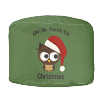Owl be home for Christmas! Pouf