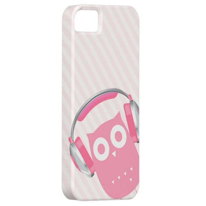 Owl be listening to music! iPhone SE/5/5s case