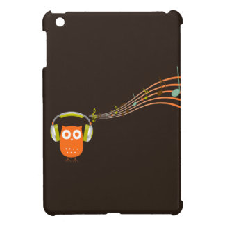 Owl Be Listening to Music {Mini iPad Case} iPad Mini Cover