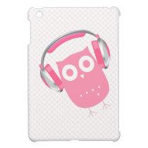 Owl Be Listening to Music {Mini iPad Case} iPad Mini Covers