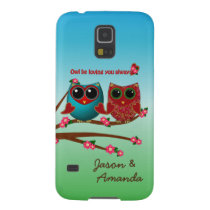 Owl be loving you-Samsung Galaxy s5 Phone Case