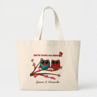 Owl be loving you-Tote Bag