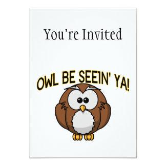 Owl Be Seein' Ya Card