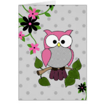 Owl Be Seeing You! Card