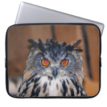 Owl be seeing you laptop sleeve