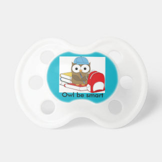 Owl be smart pacifier