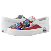 Owl Be There Slip-On Sneakers