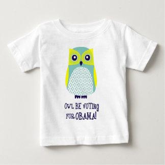 owl be voting for pbama light shirt