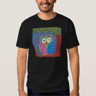 Owl be waiting t shirts