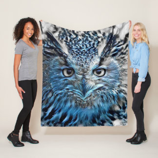 Owl Be Warm In This Fleece Blanket
