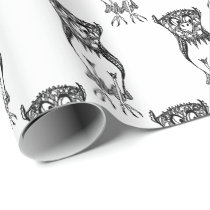 Owl Be Watching Wrapping Papper Wrapping Paper