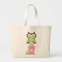 Owl Beach Tote bag