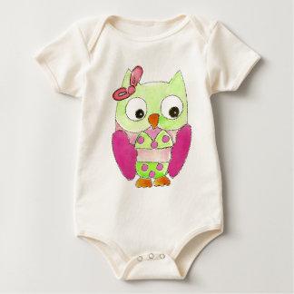 Owl Bikini Baby Bodysuit