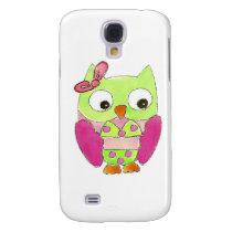 Owl Bikini Galaxy S4 Cover