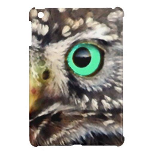 Owl Bird Eyes Tree nature wise iPad Mini Case