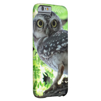 Owl Bird Feathers Park Peace Hope Love Art Barely There iPhone 6 Case