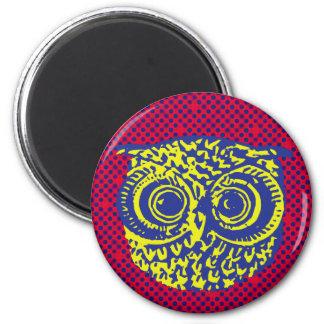 owl bird graphic magnet