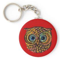 owl bird keychain