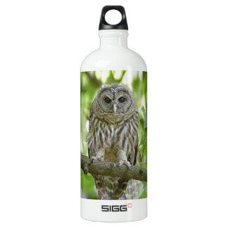 owl   Bird Tree green add text SIGG Traveler 1.0L Water Bottle