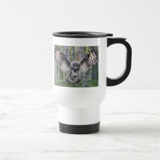 Owl Birds Feathers Party Shower Teacher Class Art Travel Mug